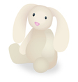 Rabbit Stuffed Animal vector image