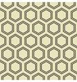 Honey Comb Pattern vector image