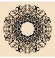 Elegant mandala vector image
