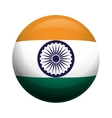 Flag icon Indian Culture design graphic vector image
