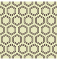 Honey Comb Pattern vector image