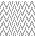 seamless pattern zig zag vector image