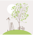spring clean vector image