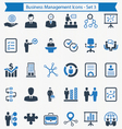 Business Management Icons - Set 3 vector image
