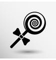 candy lollipop logo symbol icon graphic vector image