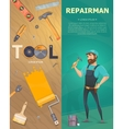 Colorful Technician Vertical Banners vector image
