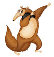 mr anteater vector image