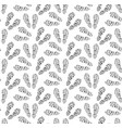 footprints of shoes seamless pattern traces of vector image