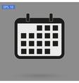 image Calendar Icon vector image