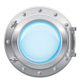 boat porthole 01 vector image vector image