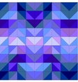 Seamless blue surface pattern or background vector image vector image