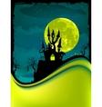 dark scary halloween night vector image