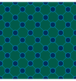 Peacock Polka dot Chess Board Background vector image