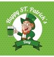 St Patricks day design vector image