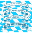 Oktoberfest Ribbons vector image