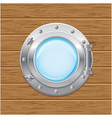 boat porthole 02 vector image vector image