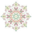 Floral Pattern Orient Abstract Background vector image