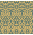 Classic seamless pattern yellow vector image