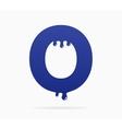 Letter O logo or symbol icon vector image