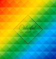 beautiful colorful background vector image