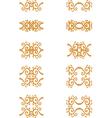 vintage element vector image vector image