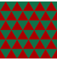 Red Green Triangle Background vector image