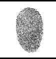 a finger print vector image