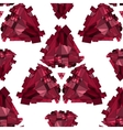 Geometric 3D seamless background vector image