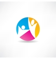 unity of the people icon vector image