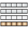 pack film strip isolated vector image