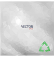 recycled paper vector image