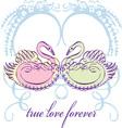 True Love Forever vector image