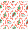 Paisley pattern seamless vector image