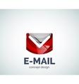 E-mail logo business branding icon vector image