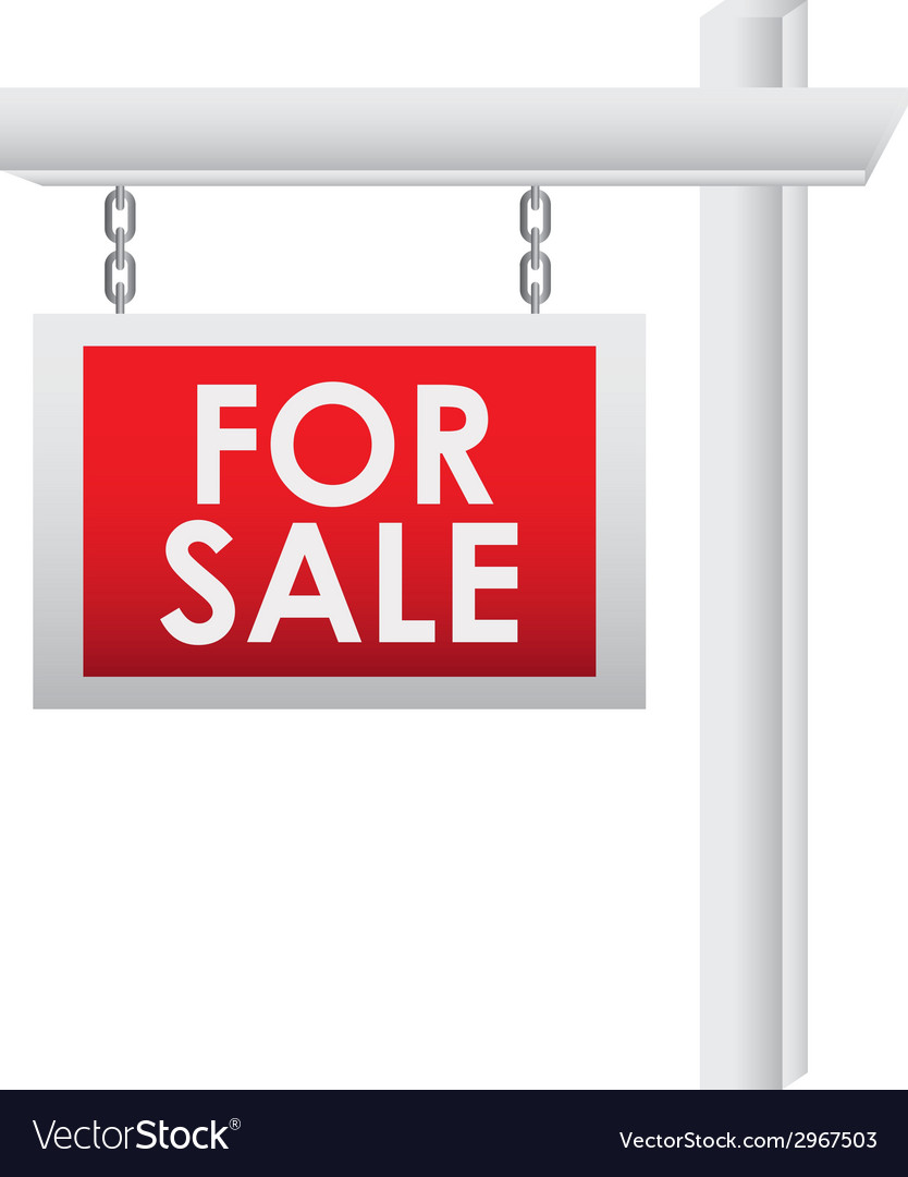 For sale design vector