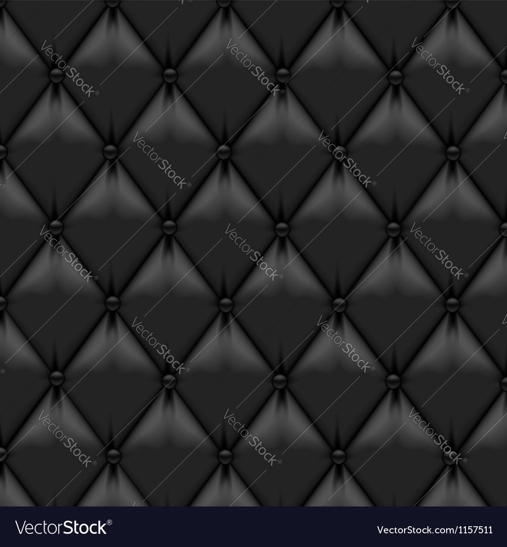 Leather upholstery background vector