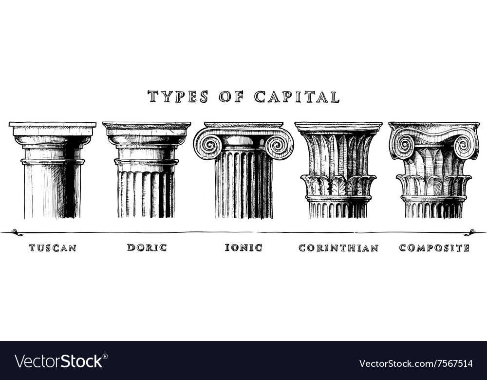 Types of capital classical order vector