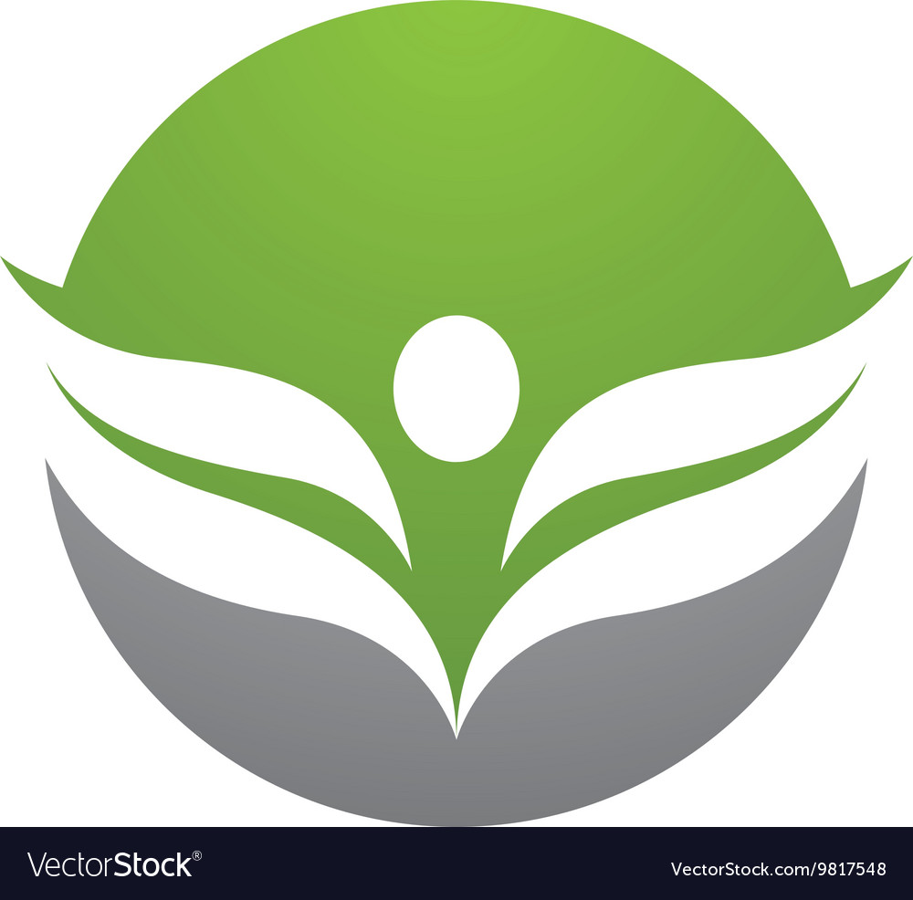 Health logo template vector