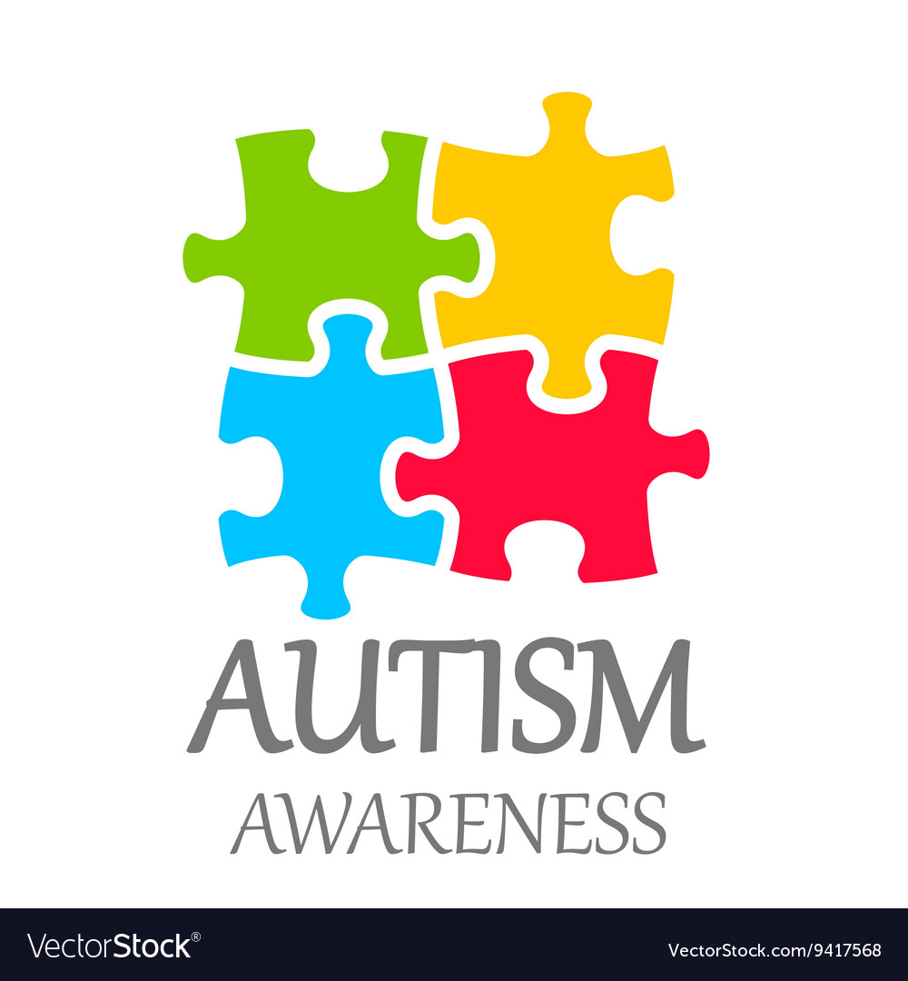 World autism awareness day vector