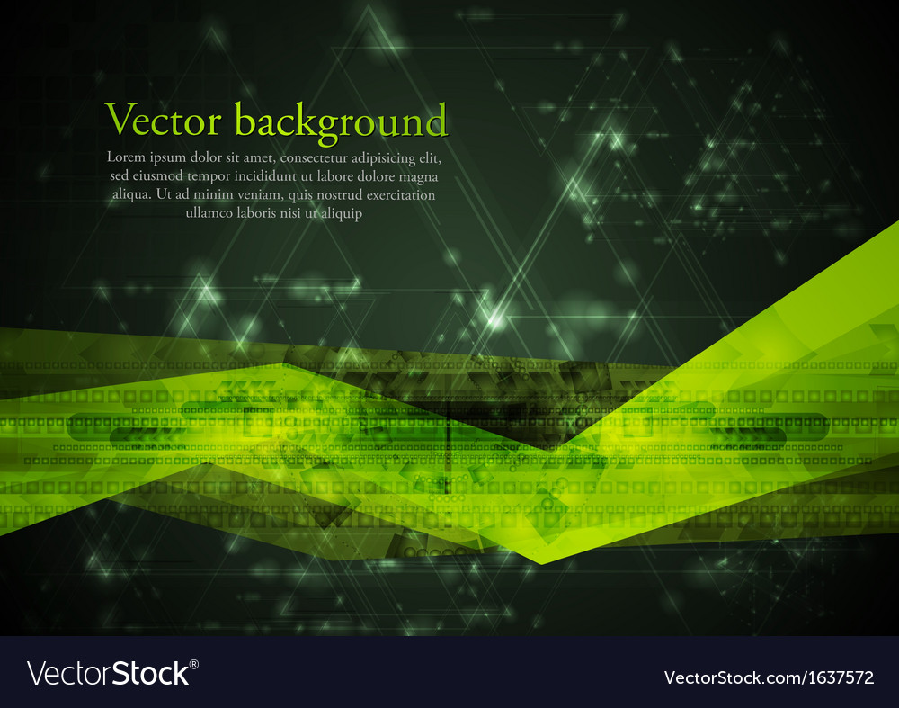 Abstract hitech vector