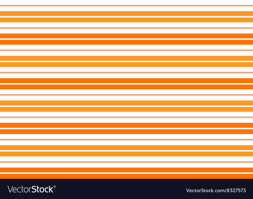 Orange white stripes background vector