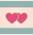 Card Heart Four vector image
