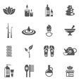 Spa And Relax Icons Set vector image