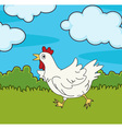Chicken run vector image vector image