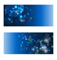 backgrounds with blue lights vector image
