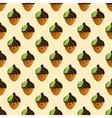 acorn on a light beige background vector image