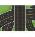 Expressway vector image vector image