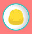 construction helmet icon design logo vector image