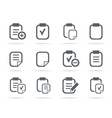 File an icon vector image vector image