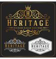Luxurious Royal Logo Re-sizable Design vector image